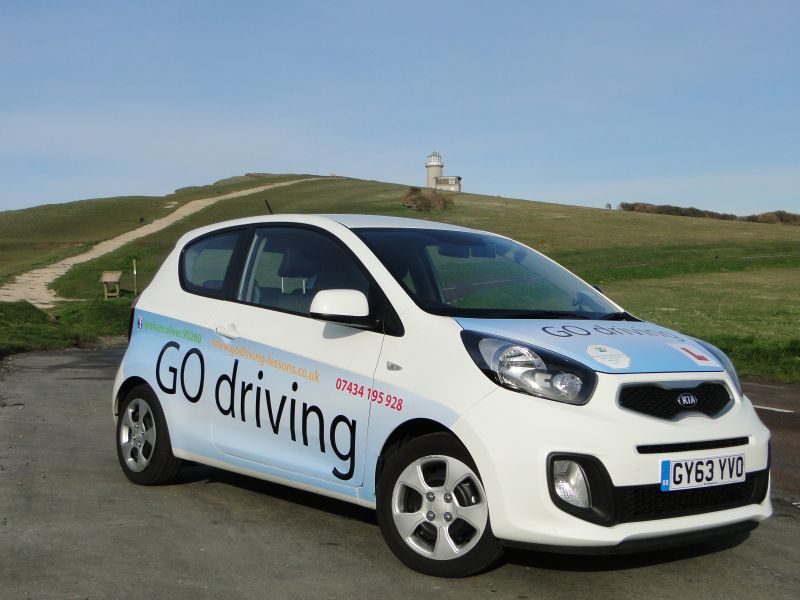 driving lessons in Seaford with Graham Oliver